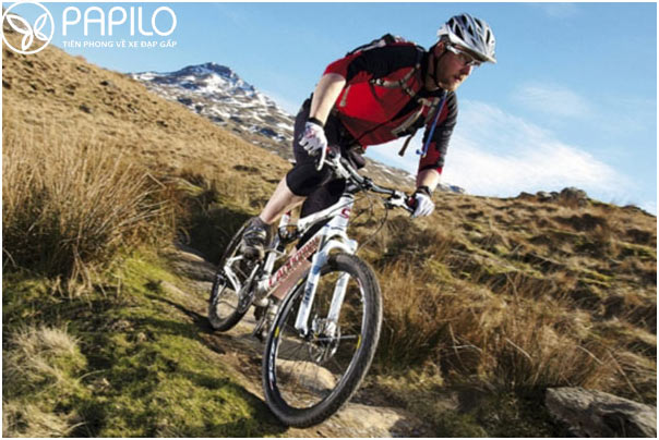Mountain Bike phù hợp với những đoạn đường khó đi, đường xấu hay đồi núi